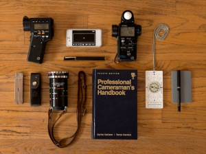 Traditional Cinematographers' tools.