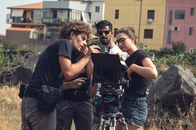 Shooting in Catania.